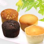 石村萬盛堂のヴィンテージアンジュはクリームが入ったカップケーキ。個包装でお配りにもおすすめ。3種類の味が楽しめますよ~。