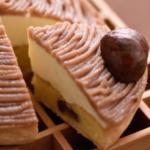 銀座ル・ブラン実店舗で30年以上も人気ナンバーワンのモンブランは栗の追加もできます。