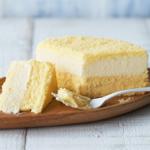 ルタオのドゥーブルフロマージュは2層に分かれたチーズの口どけがたまりませんっ!