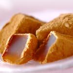 京みずはの本わらび餅は和三盆を使った上品な甘さ。とても人気です。