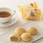 青木松風庵の月化粧は3秒に1個売れたみるく饅頭です。