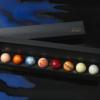 ショコラブティックレクラの惑星の輝きは、見た目も味もゆっくり楽しみたい8つのチョコです。